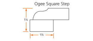 Ogee Square Step