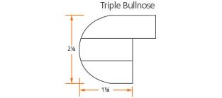 Triple Bullnose