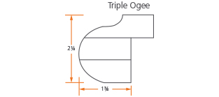 Triple Ogee